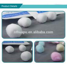Produtos descartáveis por atacado feitos sob encomenda de alta qualidade por atacado bolas de algodão sintéticas