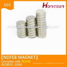 Круглые магниты ndfeb сильные n45 для продажи