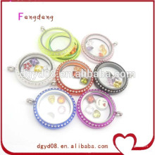 30mm colorful cheap living locket manufacturer