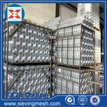 Wire Mesh Welded Galvanized yang dicelup panas