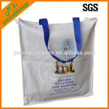 benutzerdefinierte Baumwolle Einkaufstasche mit Griffen