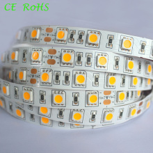 3200k 60LEDs SMD5050 24volt Iluminación de tira flexible del LED