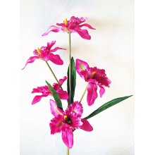 Five Heads Cattleya Orchids Artificial Flower