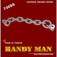 730-SS Rock Climbing Traditional Stainless Steel Chain anchor