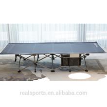 Realsports novo portátil dobrável cama de acampamento com saco de armazenamento