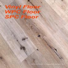Напечатанный цветастый 6мм ПВХ настил WPC этаж ППК виниловый пол