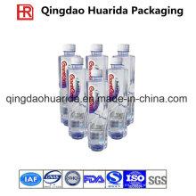 Pet / etiquetas de encogimiento de PVC para botellas y latas con impresión de colores
