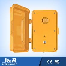 Téléphone d'urgence SIP, interphone résistant aux intempéries, téléphone sans fil VoIP