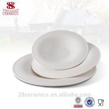 Wholesale royal bone chine vaisselle blanche, plaques en céramique pas cher