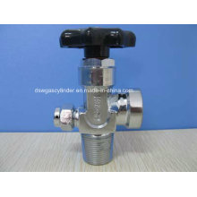 Chrom Messing Gas Zylinderventil