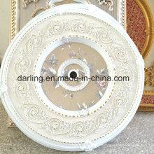 Panneau de lumière ronde de taille moyenne de 80 cm Plafond artistique