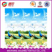 couleurs de conception de draps en tissu de polyester
