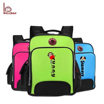 Bolso de escuela lindo de los niños de la historieta de la mochila del niño del diseño