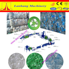 High quality PET waste bottle recycling line