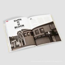 Farbenreiches Softcover-Buchdruck-Taschenbuch