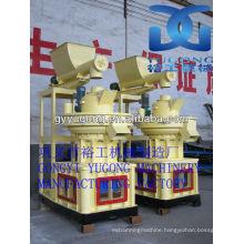 Yugong LGX-900 Model biomass wood straw pellet making machine