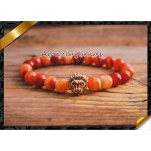 Bracelets en agate rouge de haute qualité, Bracelet cornaline pour les meilleurs amis (CB062)