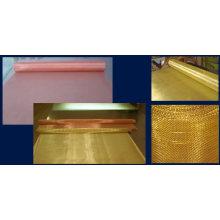 Maillage en fil de laiton en cuivre