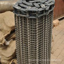 Food Transport Stainless Steel Wire Mesh Conveyor Belt