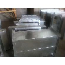 Cable shaft cable tray