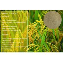 Ácido aminado do adubo orgânico 60% solúvel em água