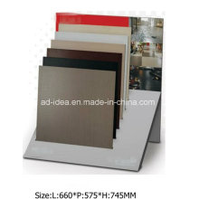 ISO Simple Design Metal Display for Marble, Granite Tile Exhibition
