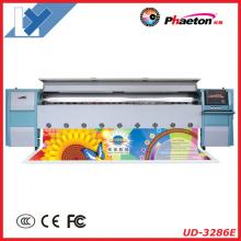 Impresora de chorro de tinta digital de formato grande al aire libre de 3.2m Phaeton (UD-3286E)