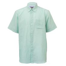 Оптовые мужские повседневные рубашки больших размеров с коротким рукавом