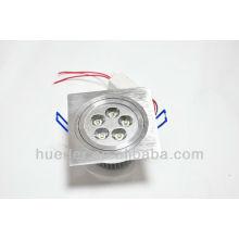Downlight led conduit à l'intérieur de la taille 95MM forme carrée ronde
