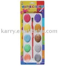 color de agua de dieciséis colores (húmedo-seco)