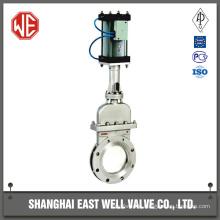 Air driven gate valves