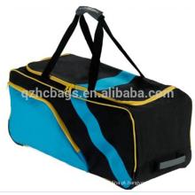 novidade overnighter esportes mochila, saco de cricket