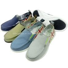 Обувь классическая Мужская мода скольжения на холст обувь бездельник обувь