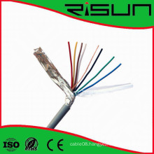 Shielded 4/6/ Cores Security Alarm Cable with Ce/RoHS/ISO9001