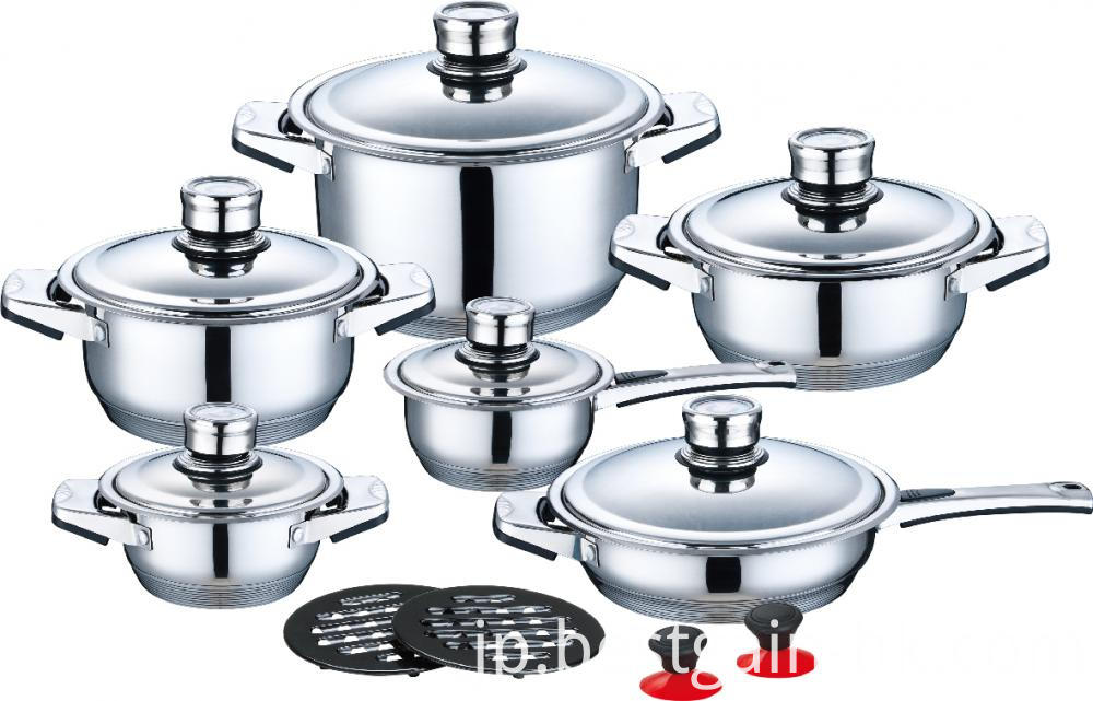 Best Quality Wide Edge Cookware Set