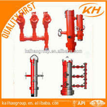 cement head for oil-well cementing work
