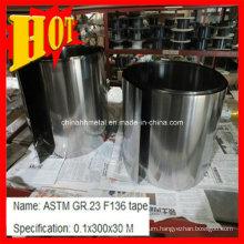 Gr5 Titanium Alloy Foil for Equipment Use