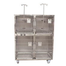 China Veterinary Clinic Vet Stainless Steel Cheap xxl dog cage