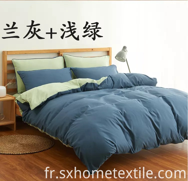 Home Textile Microfiber Fabric Bed Sheet Set
