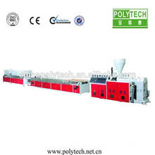 High Foamed Ratio WPC/PVC Foamed Board Making Machine / Machine For Produce Various Wide Profiles