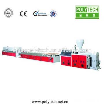 Portes et fenêtres cadre Making Machine/PVC fenêtre profil Extrusion Machine /Production Line stratifiés extrudeuse