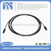 Digital Optical Toslink 2.2mm OD Audio Cable 3m