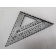 Plaque d'échelle de mesure de niveau en aluminium de différentes formes