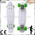 Красочные пластиковые скейтборд с подгонянным логосом