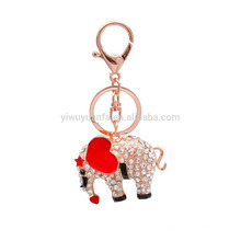 Animal Keychain Creat your own design elephant keychain rhinestone key chain