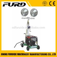 Mini beweglicher tragbarer industrieller Beleuchtungsturm mit HONDA-Generator (FZM-1000A)