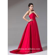 2017 estilo de império mais elegante e clássico princesa vestido de noite