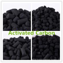 Carvão ativado koh impregnado
