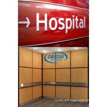 Stable Running Big Capacity Passenger Hospital Elevator