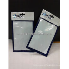 Os sacos de empacotamento do backcover da nota 2 da galáxia de Samsung / o saco acessórios do telefone móvel com veem através da janela